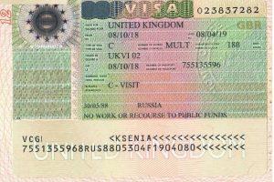 виза в великобританию 2019